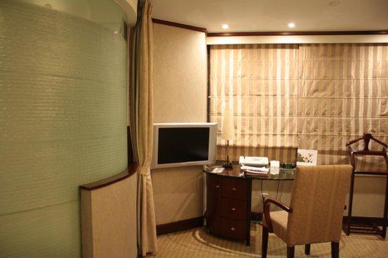 Tong Mao Hotel: Рабочее место