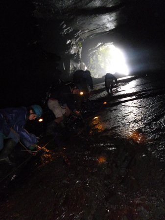 Corris Mine Explorers: Final Climb