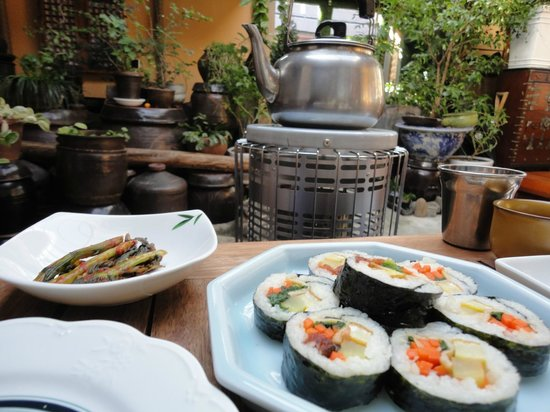 MaMa Hanok Guesthouse (Changdeok Palace): An exceptional breakfast on my last morning in Seoul