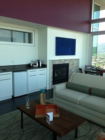 Hotel Indigo Asheville Downtown : Great room in King Penthouse Suite
