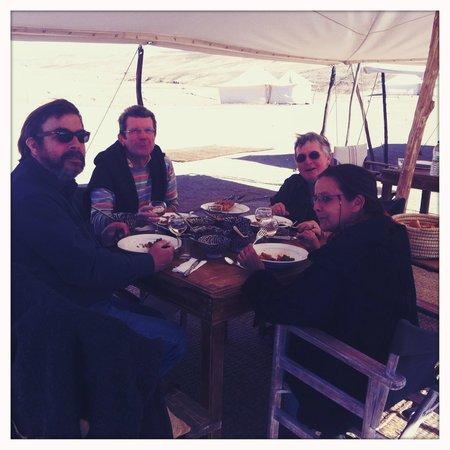 Scarabeo Camp : Déjeuner au grand air !