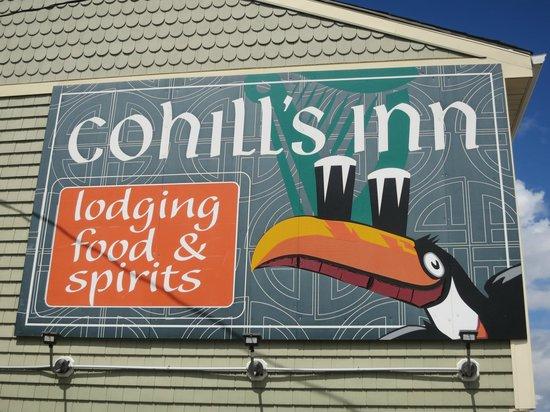 Cohill's Pub : Cohill's Inn sign