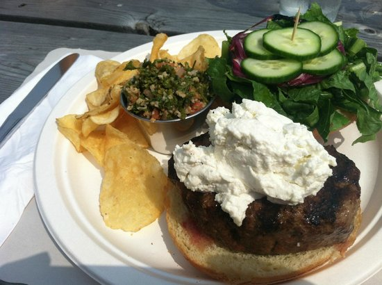 Cohill's Pub : Lamb burger