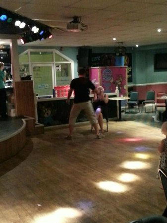 Shurland Dale Holiday Park - Park Resorts: Trying to woo Jane as Tarzan doing a lap dance!! lol