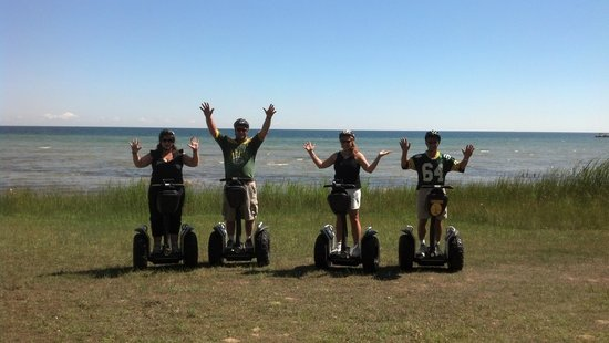 Seaquist Tours Off-Road Segway Adventures: We did it!
