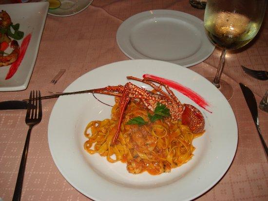 GG Fitfth Av. Ristorante : Lobster pasta