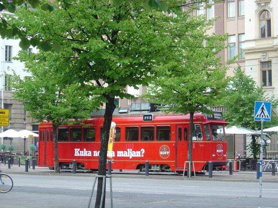 Sparakoff Pub Tram