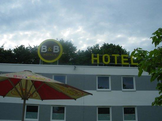 B&B Hotel Göttingen-West: Utsidan