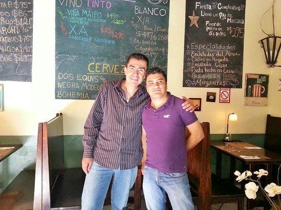 El Abue : Dentro del restaurante