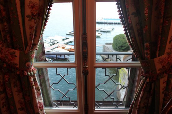 Villa d'Este: view from your room
