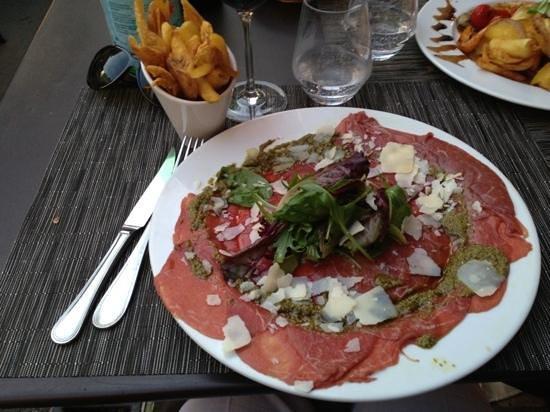 L'Auberge Saint Pierre : Beef Carpaccio