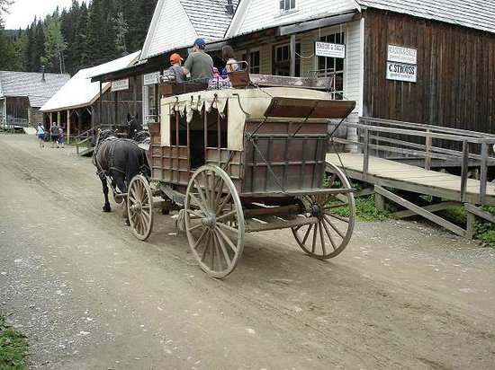 Barkerville Historic Town: Stagecoach to Richfield Court House