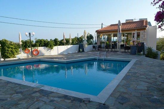 Villa Diktynna: Around the Pool