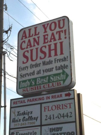 Sushi Club : don't let looks deceive you