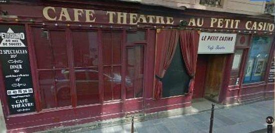 Le Petit Casino : Jolie façade, non ?