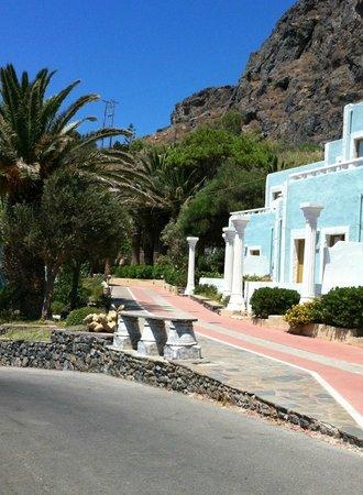 Kalypso Cretan Village : Acces à une partie des chambres