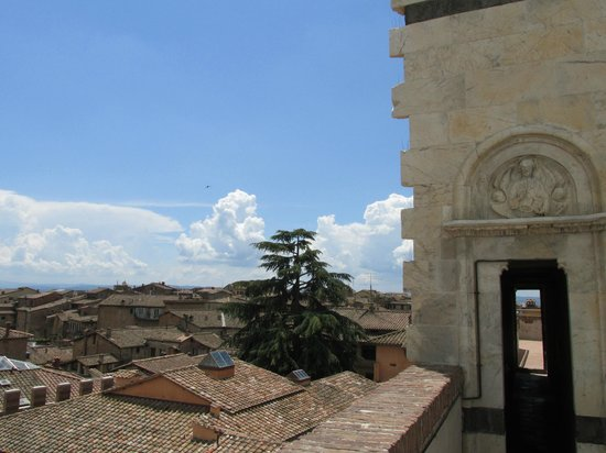 Museo dell'Opera Metropolitana: View from first landing of Panorama