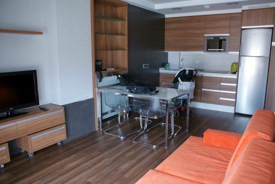 Sercotel Ciudad de Oviedo: Cocina