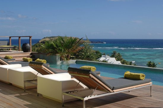 Grand Cul-de-Sac, St. Barthélemy: Pool view