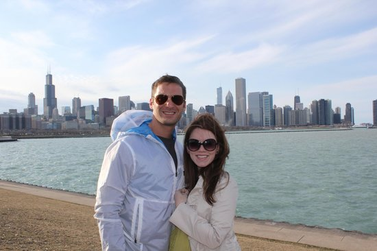 Great photo opportunity, taken by our Chicago Private Tours guide George!