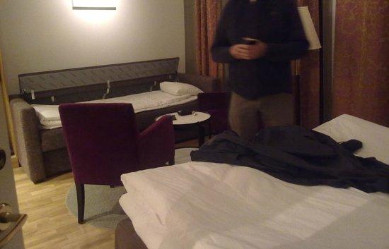 Elite Hotel Adlon: Habitación vista