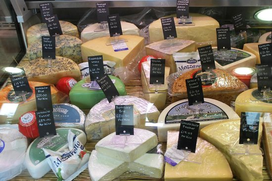 The Schoolrooms: Selection of Yorkshire Cheese
