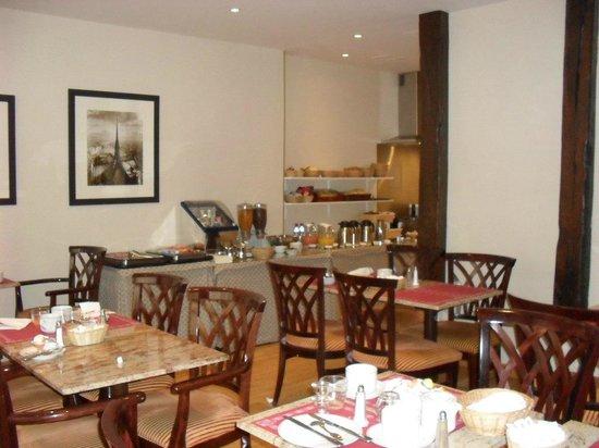 Cardinal Rive Gauche Paris: Salão de café da manhã