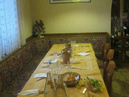 Hotel Primula : Particolare della sala da pranzo.