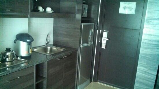 modern galley kitchen - Picture of Classic Kameo Hotel ...