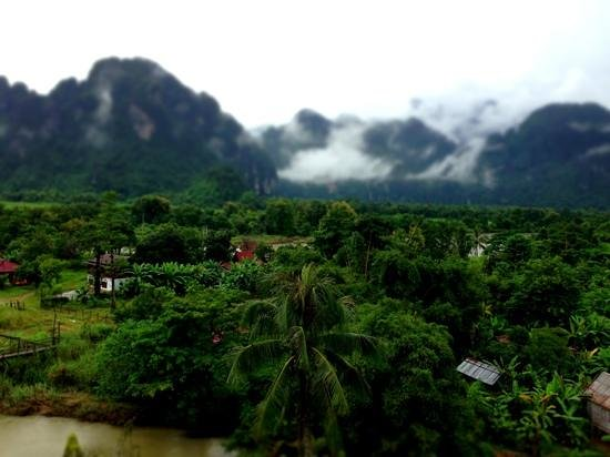 Bountang Hotel & Guesthouse: View from the balkony
