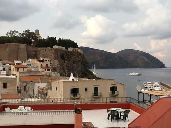 Villa Meligunis : vue de la chambre 408