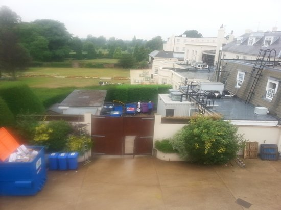 Hilton Avisford Park: The view from our room