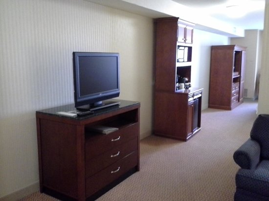 Hilton Garden Inn Milwaukee Park Place: Junior suite