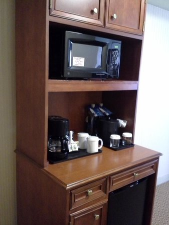 Hilton Garden Inn Milwaukee Park Place: Coffee, etc.