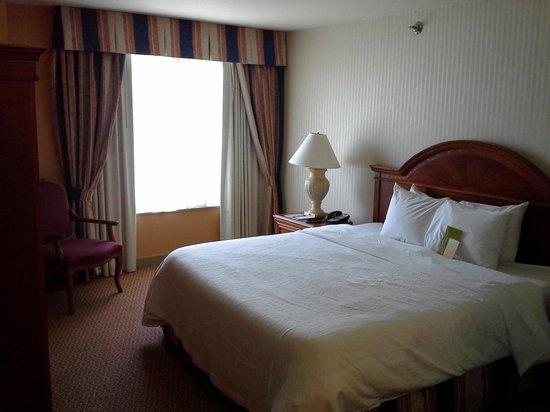 Hilton Garden Inn Milwaukee Park Place : Bedroom area