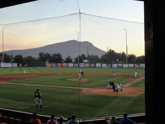 Kindrick Legion Field: Baseball in a mountain setting