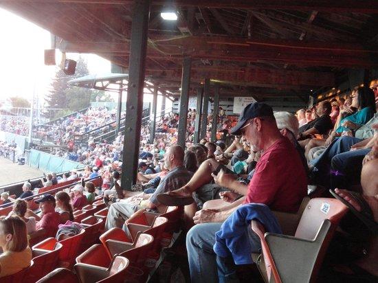 Kindrick Legion Field: Lots of fans