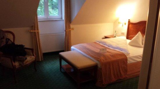 Hotel Prinzregent : Room- upon arrival