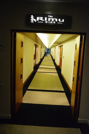 Commodore Airport Hotel, Christchurch: Hallway....DAMN long
