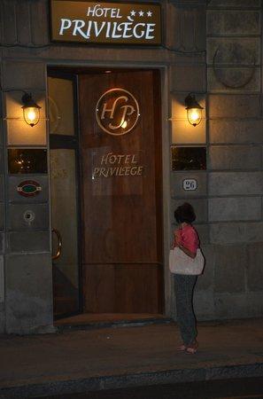 Hotel Privilege: Entrée de l'hotel