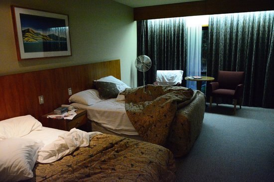 Commodore Airport Hotel, Christchurch: Inside the rooms