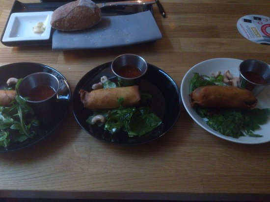 Kitzens: Excellent spring roll starters