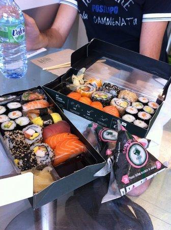 Wasabi 439 Oxford Street: sushi