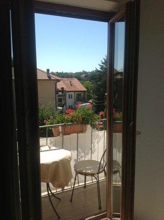 Nido Verde: il balconcino dalla camera Miro' al secondo piano