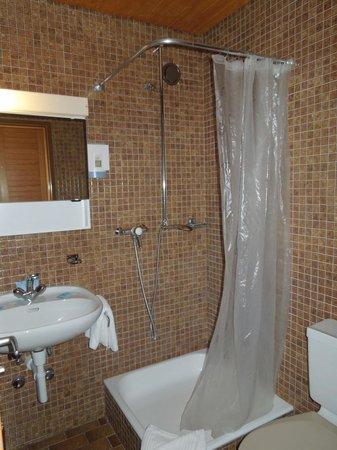 Hotel Fiescherhof: Badezimmer