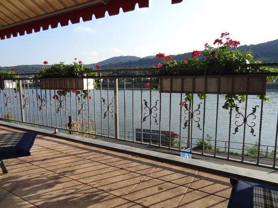 Hotel Rheinpracht: Blick vom Balkon