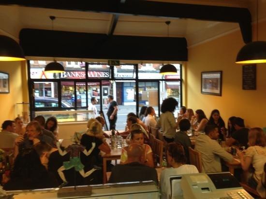 Bellaggio: busy busy