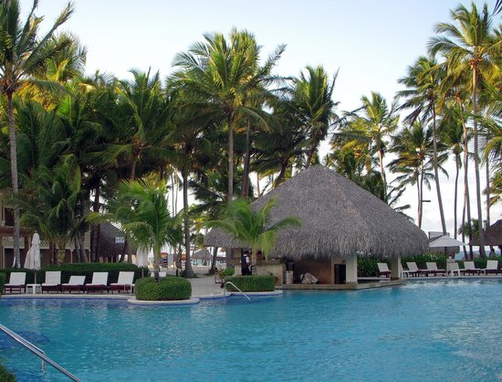 Dreams Palm Beach Punta Cana: The pool
