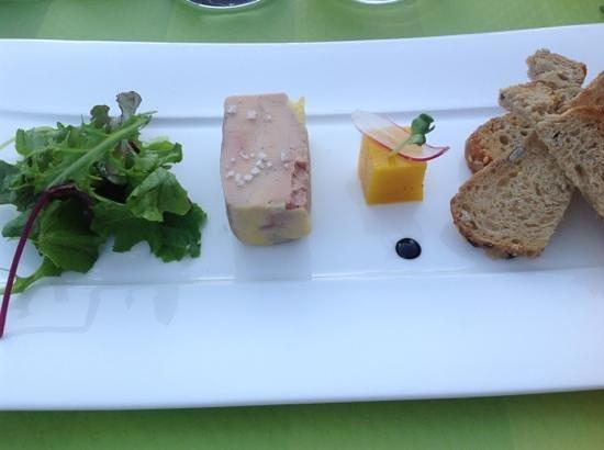 La Ferme de Villeneuve : foie gras