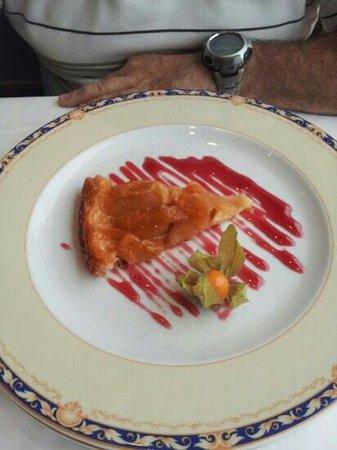 Conde de Badaran : tarta tatín de manzana
